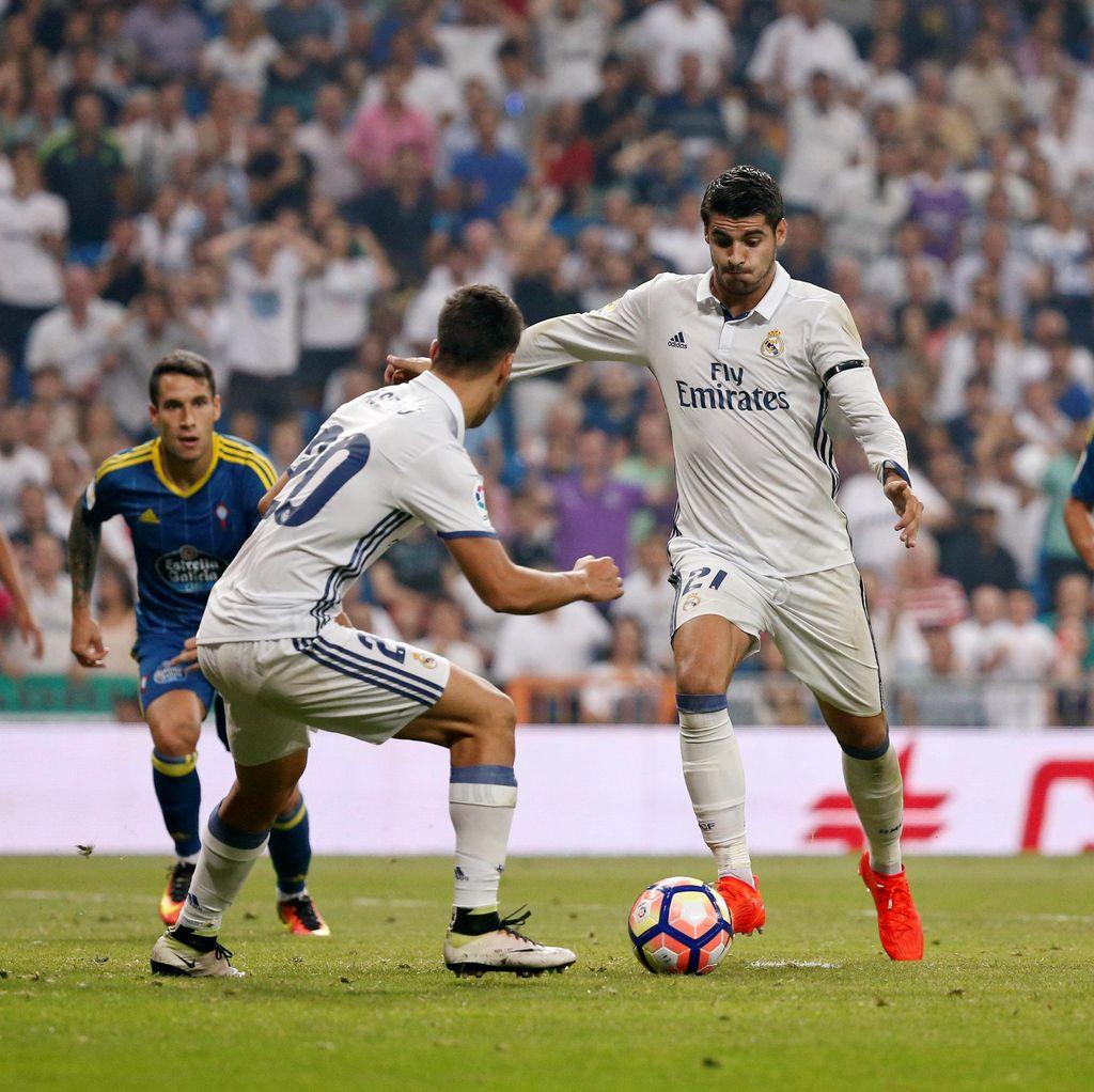Madrid Atasi Celta Vigo 2-1