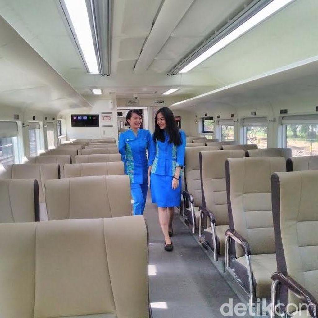 Kereta Api Ekonomi Rasa Kelas Eksekutif Rute Surabaya-Jakarta Diuji Coba