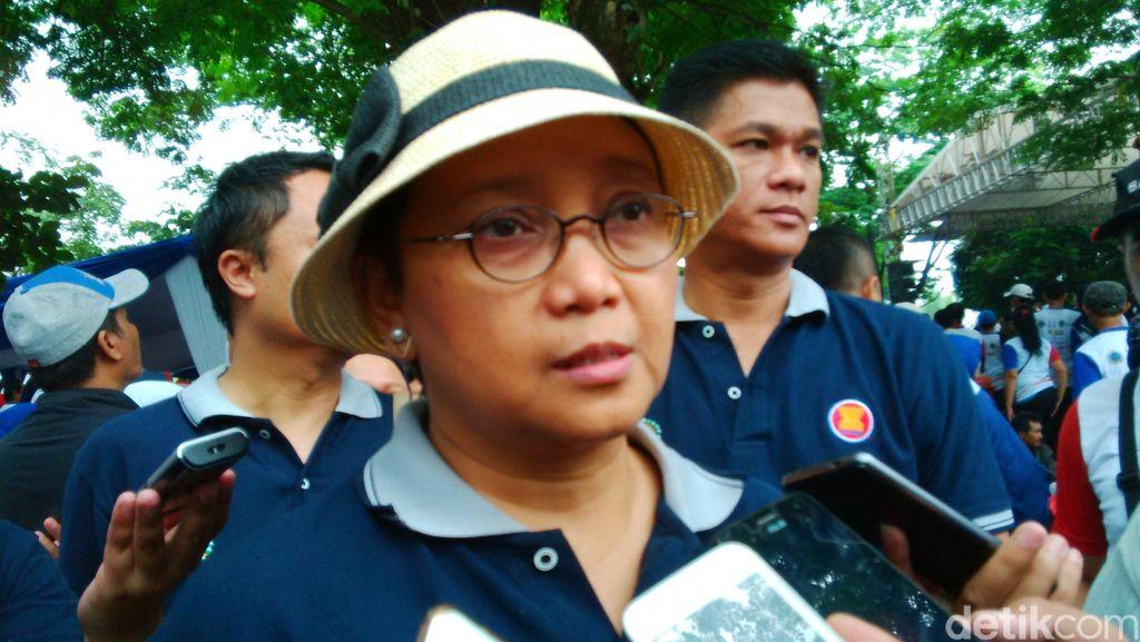 Menlu Retno Pastikan 177 WNI Sudah Berada di KBRI Manila