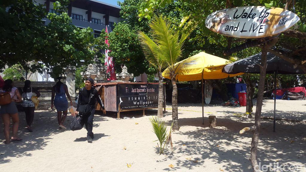 Kembali Ramai, Ini Kondisi Pantai Legian Pasca Polisi Kuta Dibunuh Bule