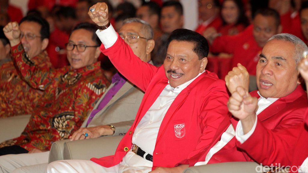 PDIP Diundang Secara Resmi Hadiri KLB PKPI yang Pilih Hendropriyono