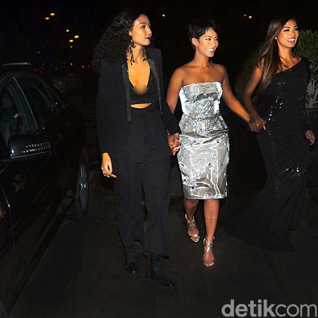 Shanty, Tara dan Tatyana Hadiri Gala Premiere Ini Kisah Tiga Dara
