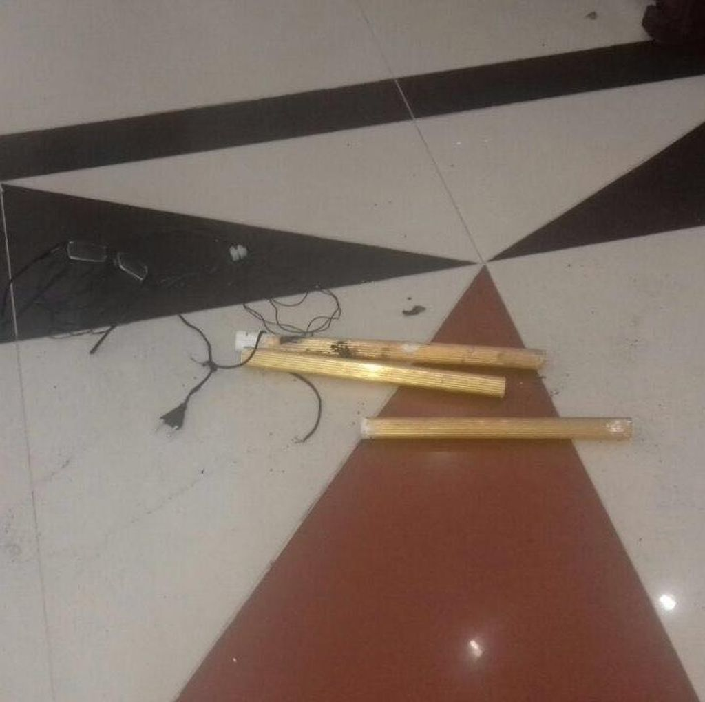 Ini Penampakan Bom di Gereja Santo Yoseph Medan yang Diamankan Polisi
