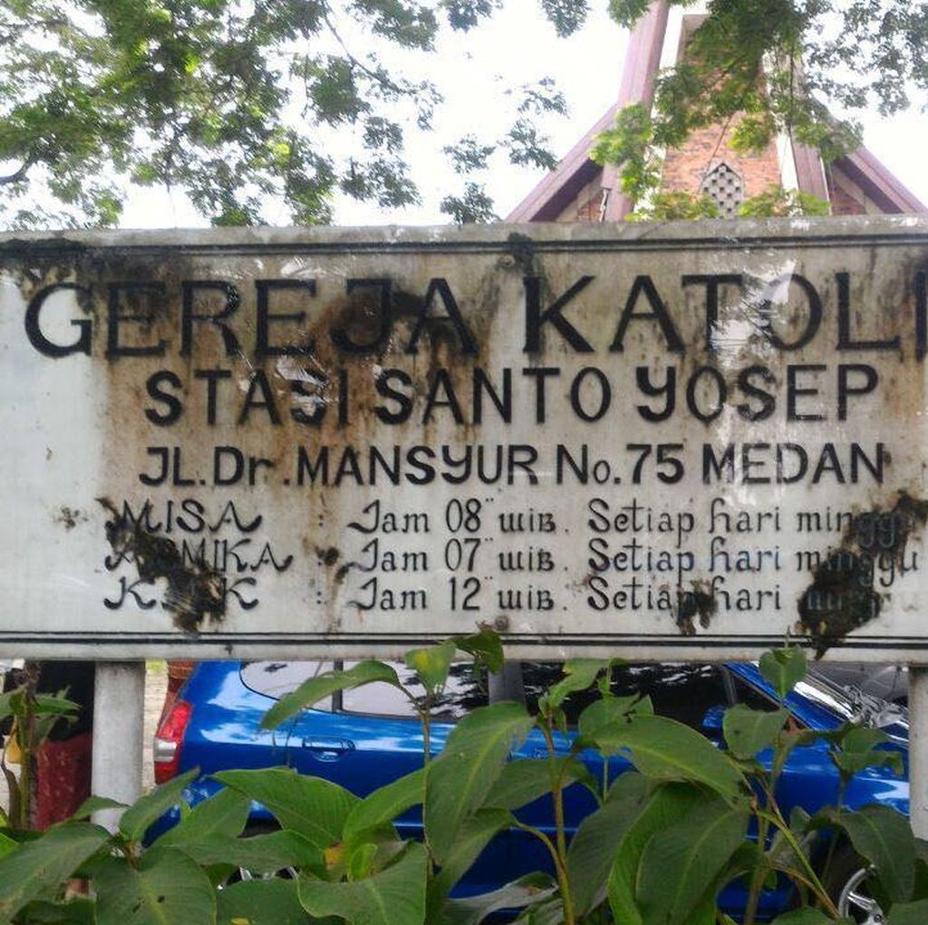 Cerita Jemaat Gereja di Medan: Selamatkan Pastor Meski Ada Percikan Api