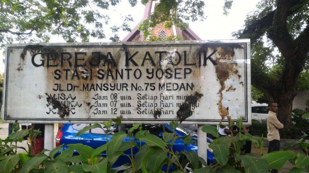 Fakta Penyerangan Gereja di Medan: Bom Pipa hingga Terinspirasi Teror Prancis