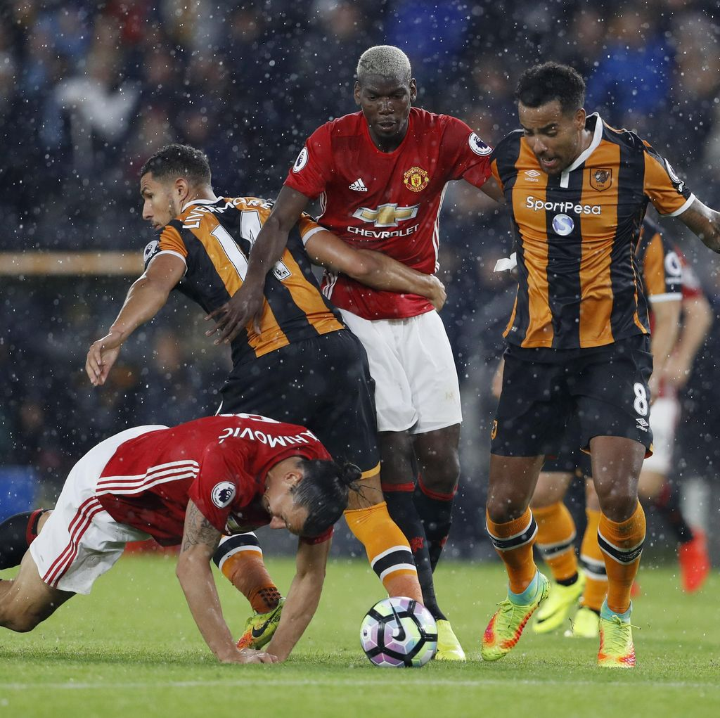 Gol Rashford di <i>Injury</i> <i>Time</i> Menangkan MU atas Hull City