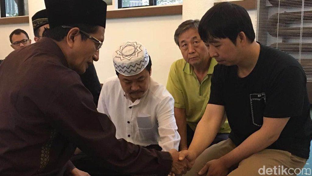 Di Busan Korsel, Imam Istiqlal Mengislamkan Warga Korsel