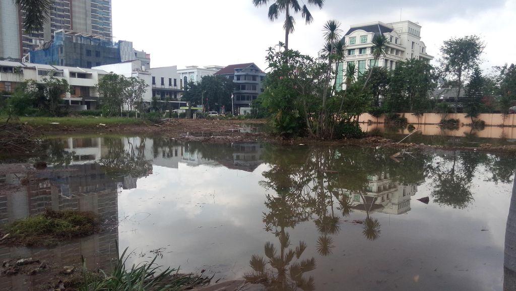 Pemprov DKI Jakarta Mulai Normalisasi Kali Krukut