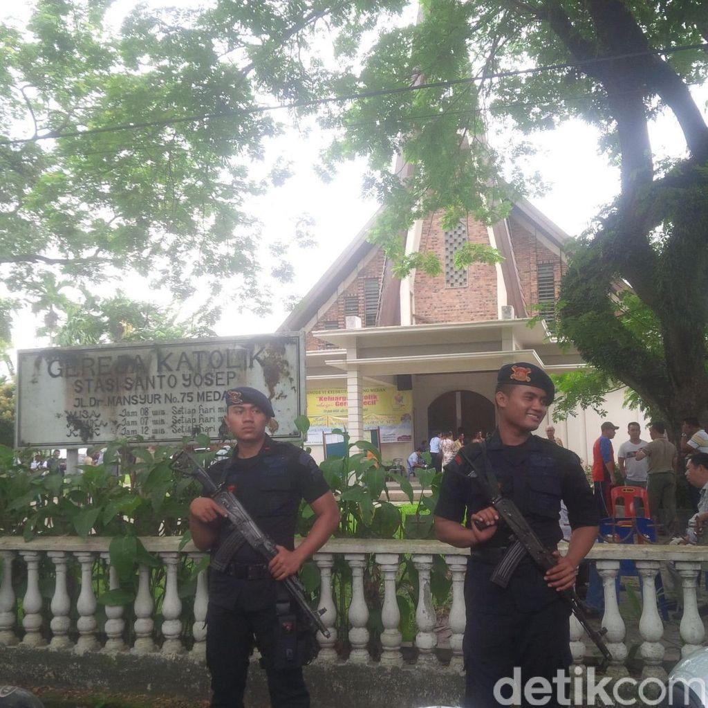 Polisi Geledah Rumah IAH di Medan, Bahan Pembuat Bom Disita