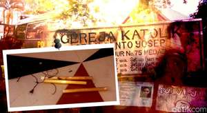 Dugaan Bom Bunuh Diri di Medan