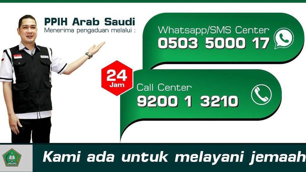 Jemaah Semakin Padat di Makkah, Manfaatkan Layanan Call Center dan WhatsApp