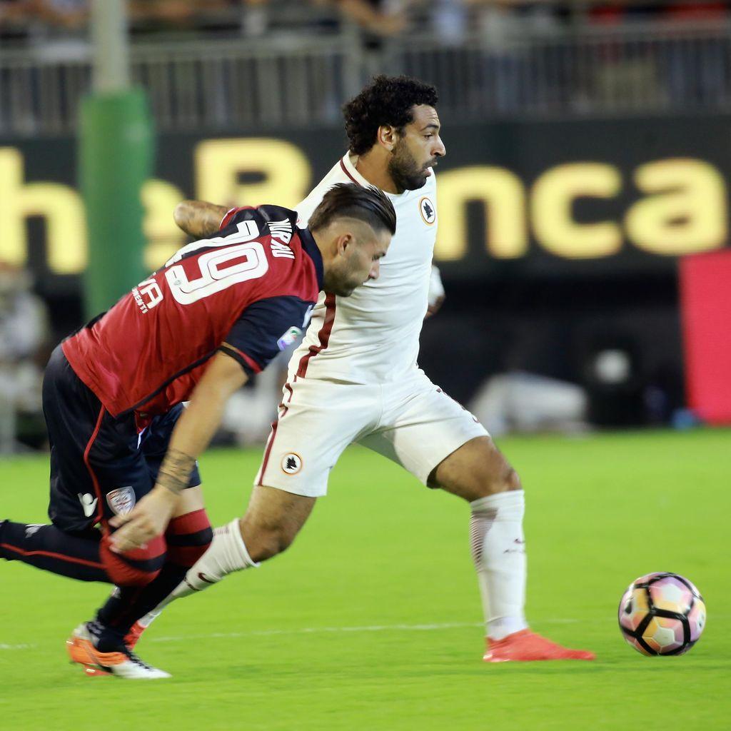 Buang Keunggulan Dua Gol, Roma Ditahan Imbang Cagliari 2-2