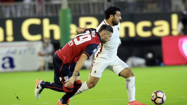 Roma Ditahan Imbang Meski Sempat Unggul Dua Gol