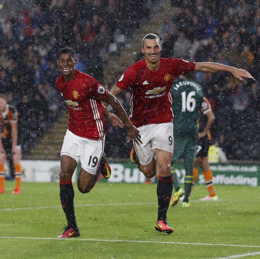 Setelah Cetak Gol Kemenangan, Akankah Rashford Dimainkan di Derby Manchester?