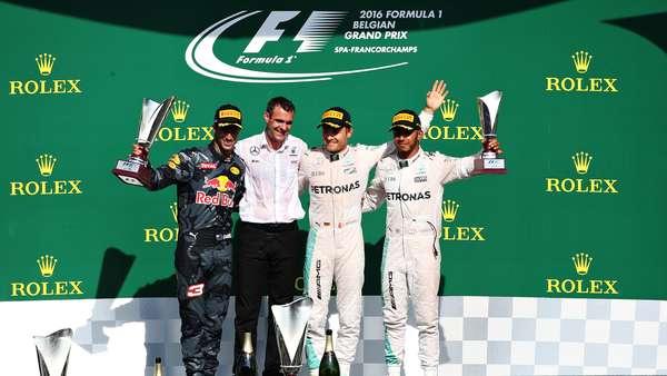 Kemenangan Rosberg, Aksi Hamilton, dan Statistik Lain dari GP Belgia