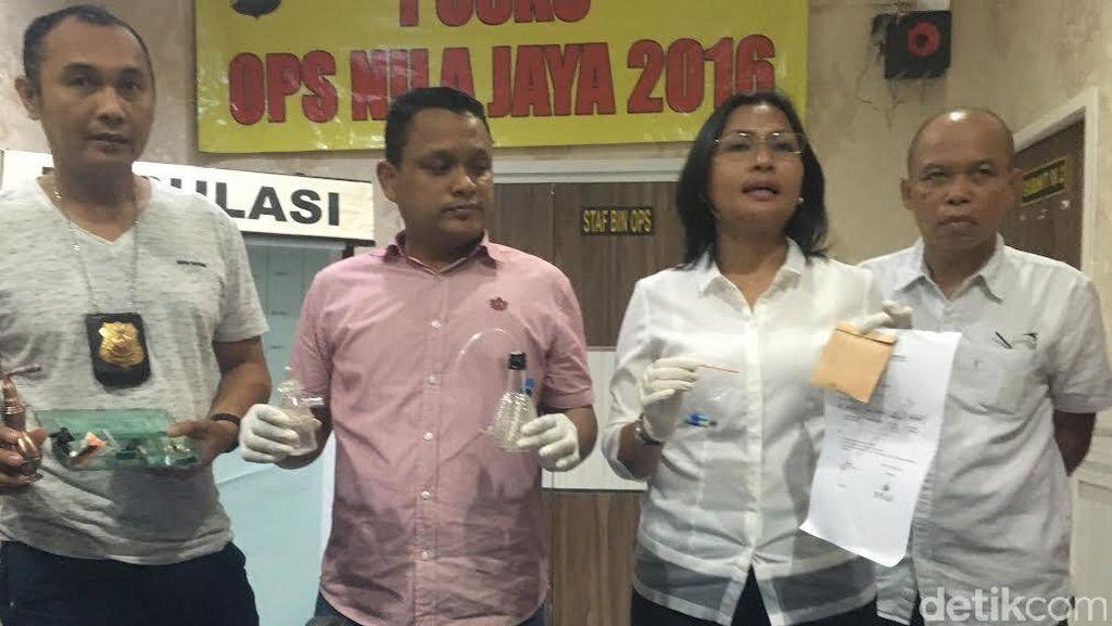3 Pil Diduga Ekstasi dan 2 Kapsul di Rumah Gatot Brajamusti Dicek Labfor