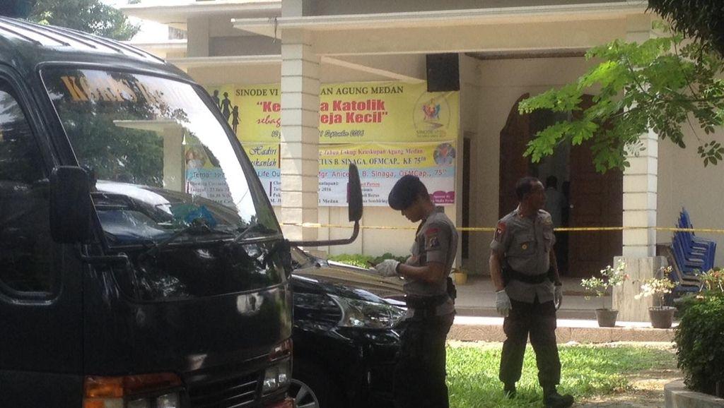 Polri: Pelaku Percobaan Bom Bunuh Diri di Medan Ditawari Uang Rp 10 Juta