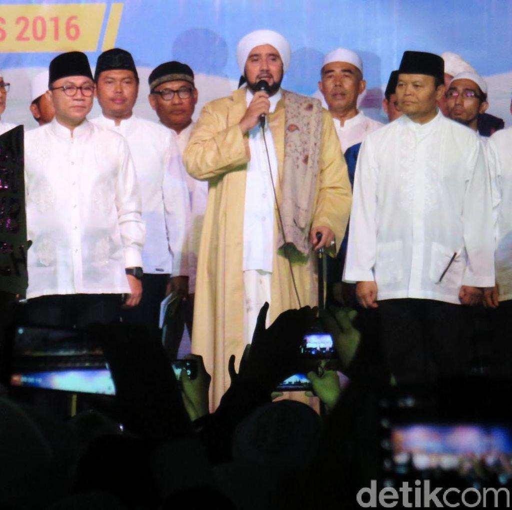 MPR Gelar Zikir Bersama Habib Syekh