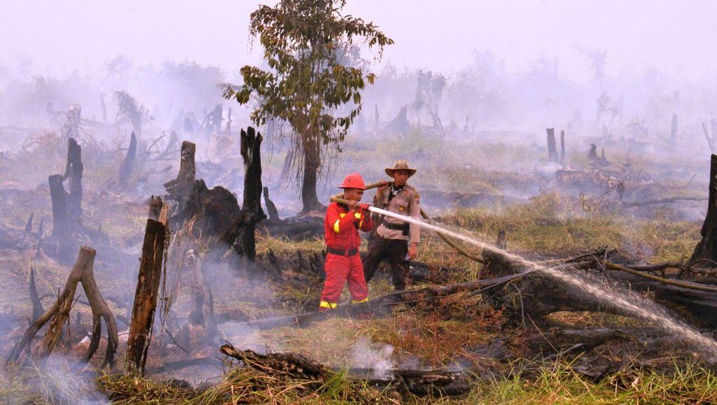 Kapolda Riau yang Baru akan Teliti Lagi SP3 15 Perusahaan Soal Kasus Karhutla