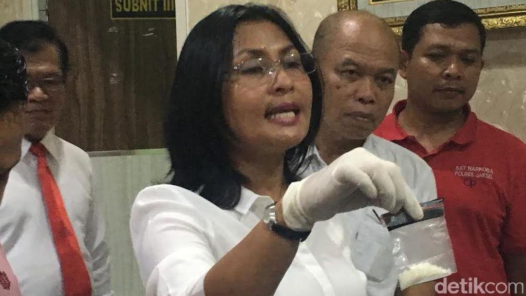 Polres Jaksel: Bubuk Kristal di Rumah Gatot Brajamusti Bukan Sabu