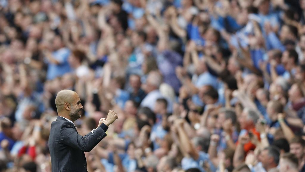 Start Sempurna City Bikin Guardiola Makin Pede