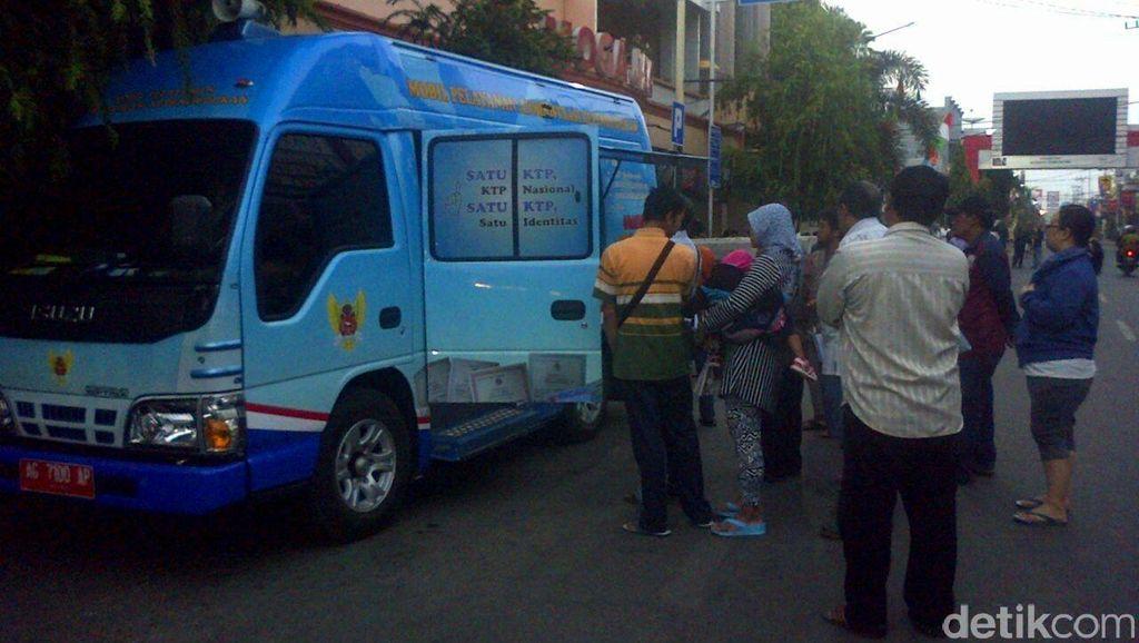 Mobil Pelayanan Adminduk di Kota Kediri: KTP hingga Akta Kelahiran Gratis!
