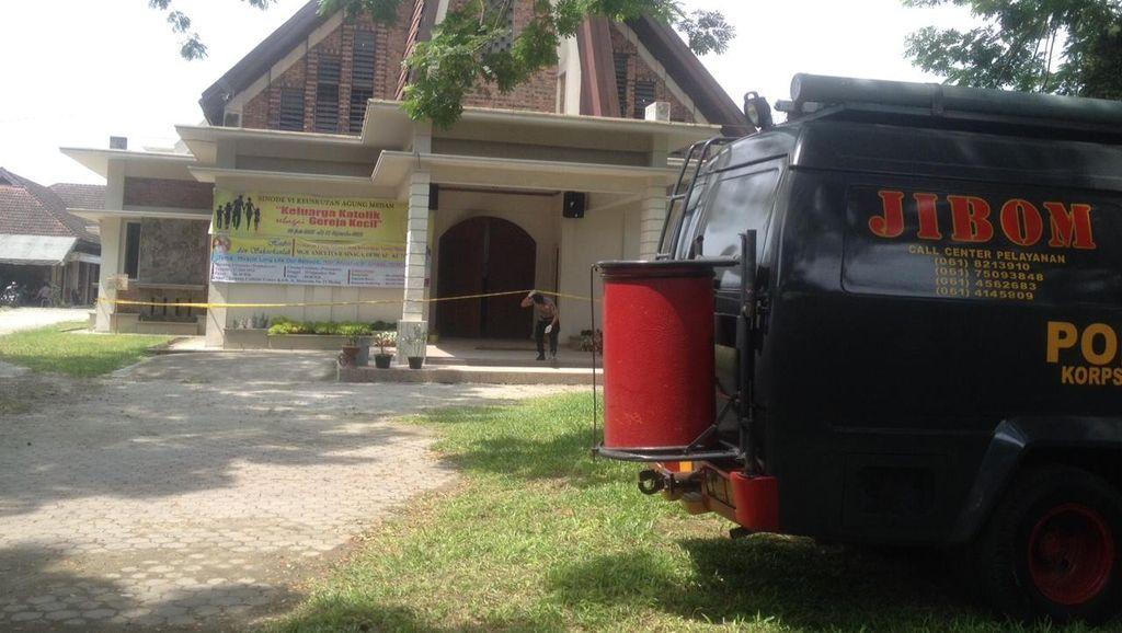 Polri: KTP Pelaku Percobaan Bom Bunuh Diri di Medan Asli