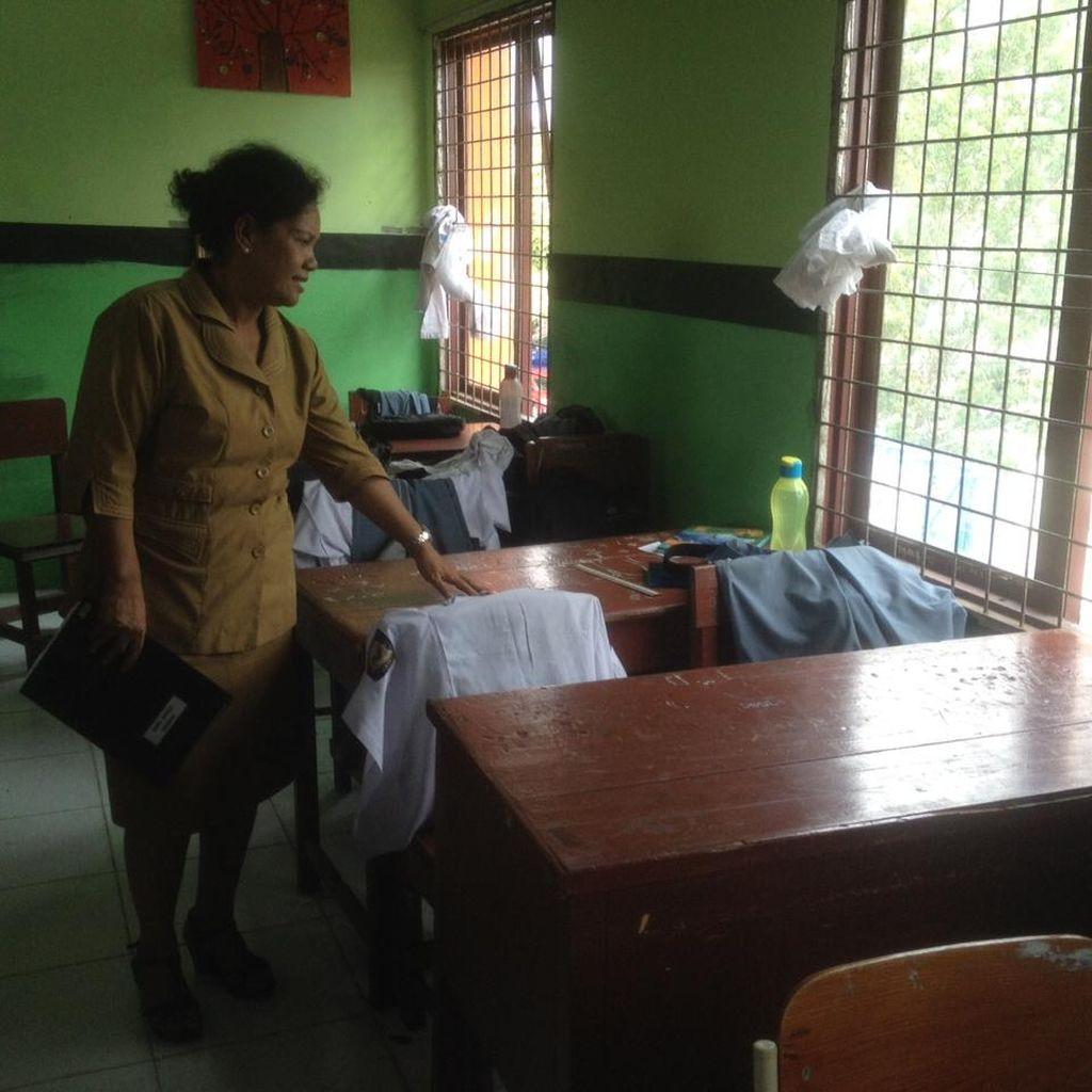 Sosok Tersangka Percobaan Bom Bunuh Diri Gereja Medan saat Bersekolah di SMA