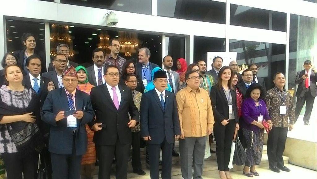 DPR Jadi Tuan Rumah Workshop Soal Tata Kelola Parlemen Antikorupsi