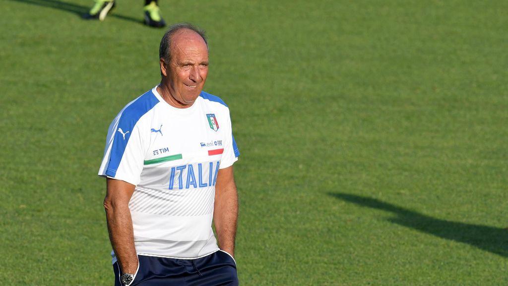 Ventura Nyaris Menangis di Latihan Perdana Bareng Italia