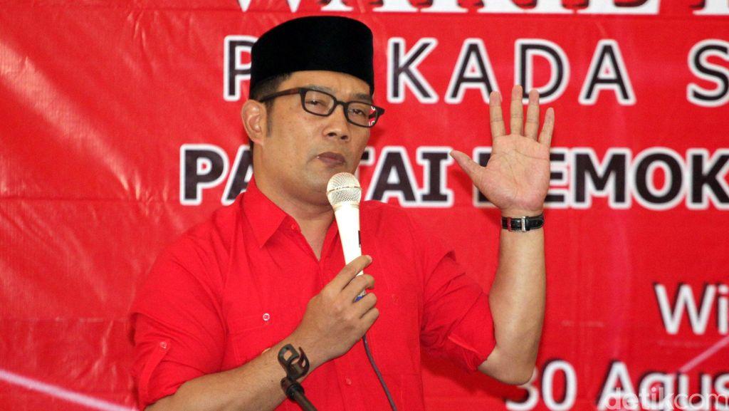 Ridwan Kamil Bicara Tri Sakti dan Sungkem ke Mega