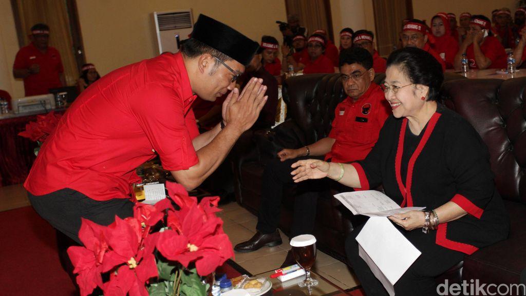 Sungkem ke Mega, Ridwan Kamil: Siapa Saja Dukung, Saya Sih Alhamdulillah