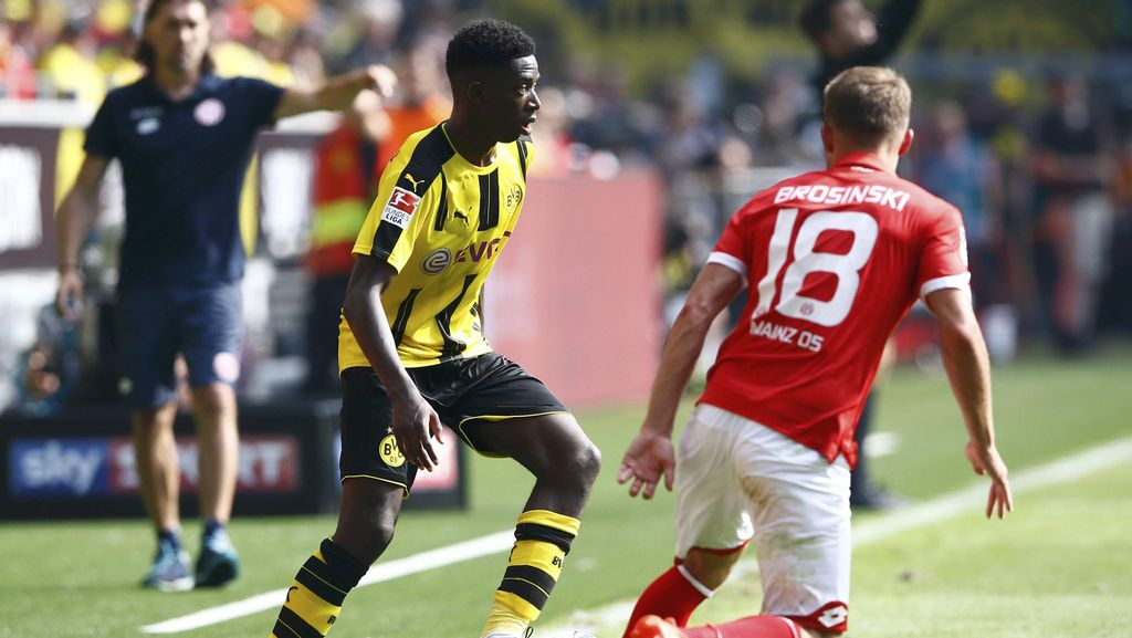 Debut Dembele di Bundesliga Bersama Dortmund Mengundang Pujian