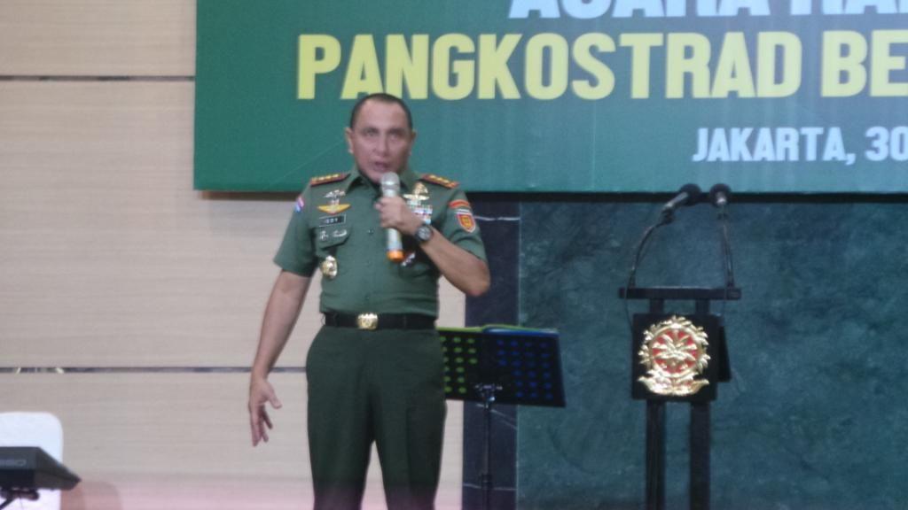 Pangkostrad Bicara Presiden sebagai Lambang Negara Hingga Niat Jadi Ketum PSSI