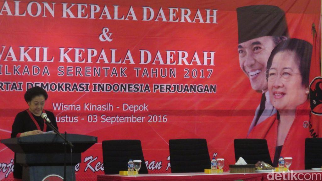 Buka Sekolah Partai, Megawati: Calon Kepala Daerah Harus Kuat Iman