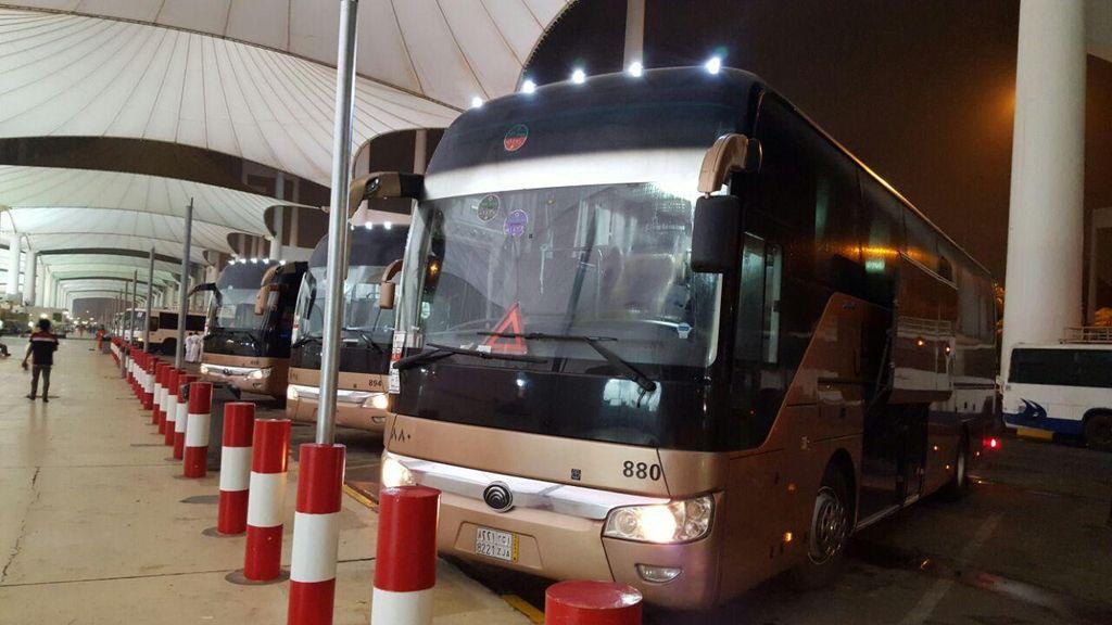 Tak Ada Lagi Bus Reyot Antarkota Perhajian untuk Jemaah Indonesia