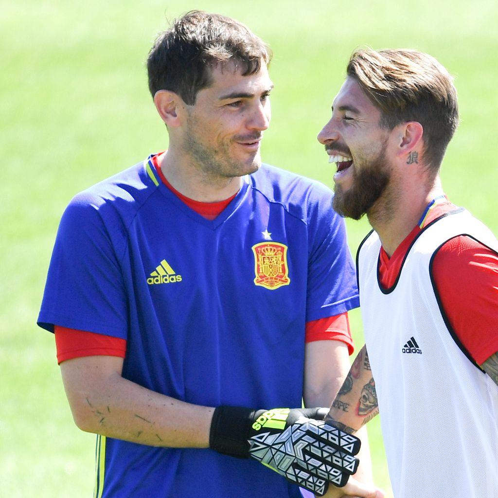 Casillas Tak Dipanggil Spanyol, Ramos Kaget