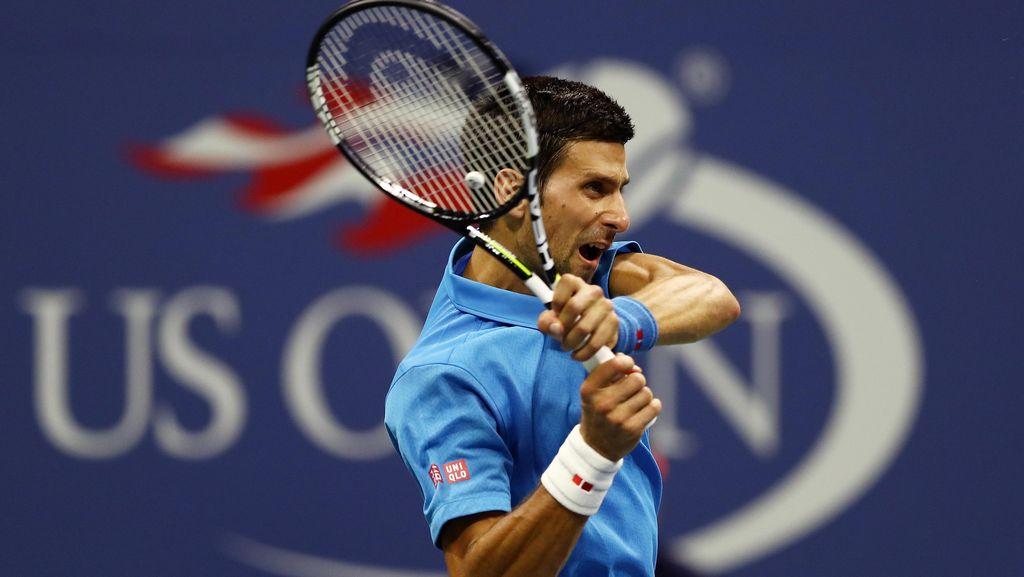 Djokovic ke Babak Kedua Usai Duel Empat Set