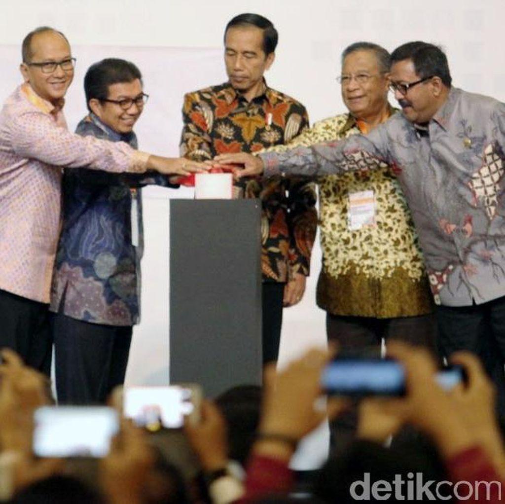 Jokowi Resmikan IFFC di BSD City