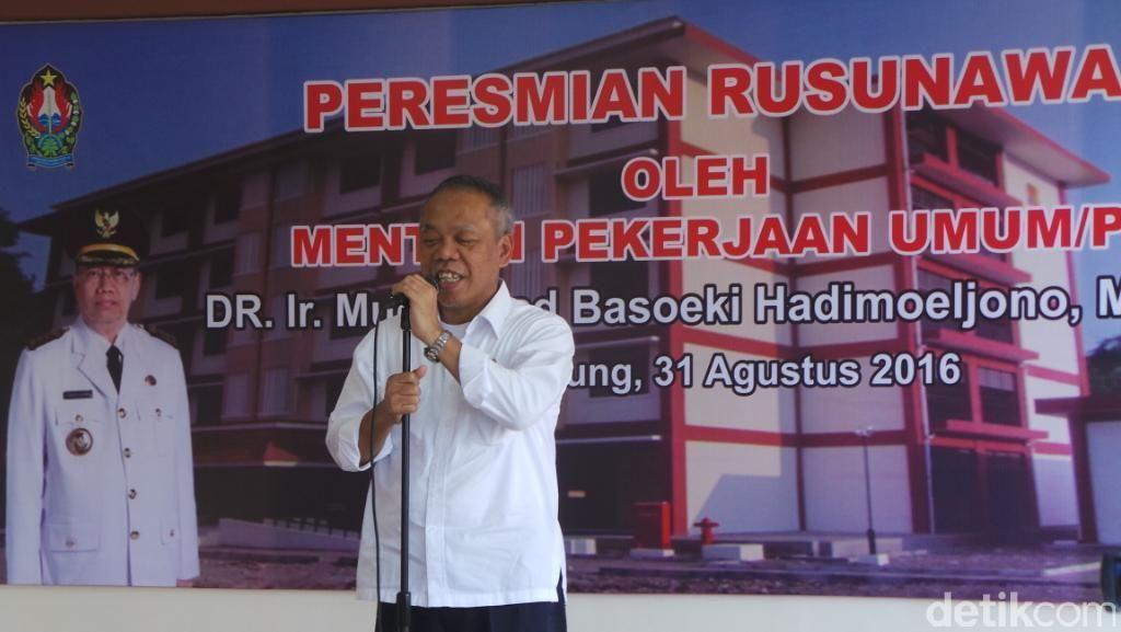 Resmikan Jembatan Sigandul, Menteri Basuki: Demi Kesejahteraan Rakyat