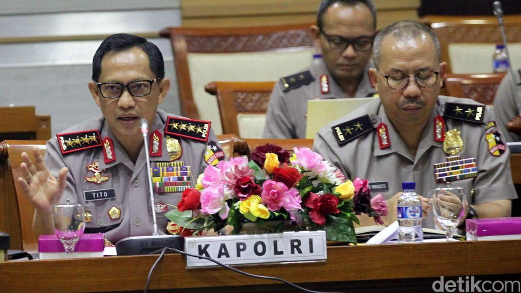 Kapolri: Ada Kontak Langsung Pelaku Bom di Gereja Medan dengan Bahrun Naim
