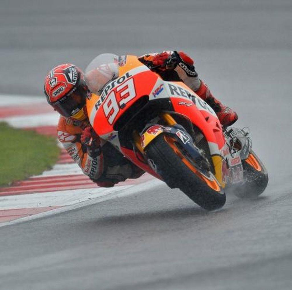 Cuaca di Silverstone yang Tak Menentu Tantangan bagi Marquez