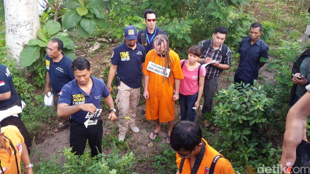 Rekonstruksi di Jimbaran, Polisi Temukan Pecahan HP Barang Bukti Baru