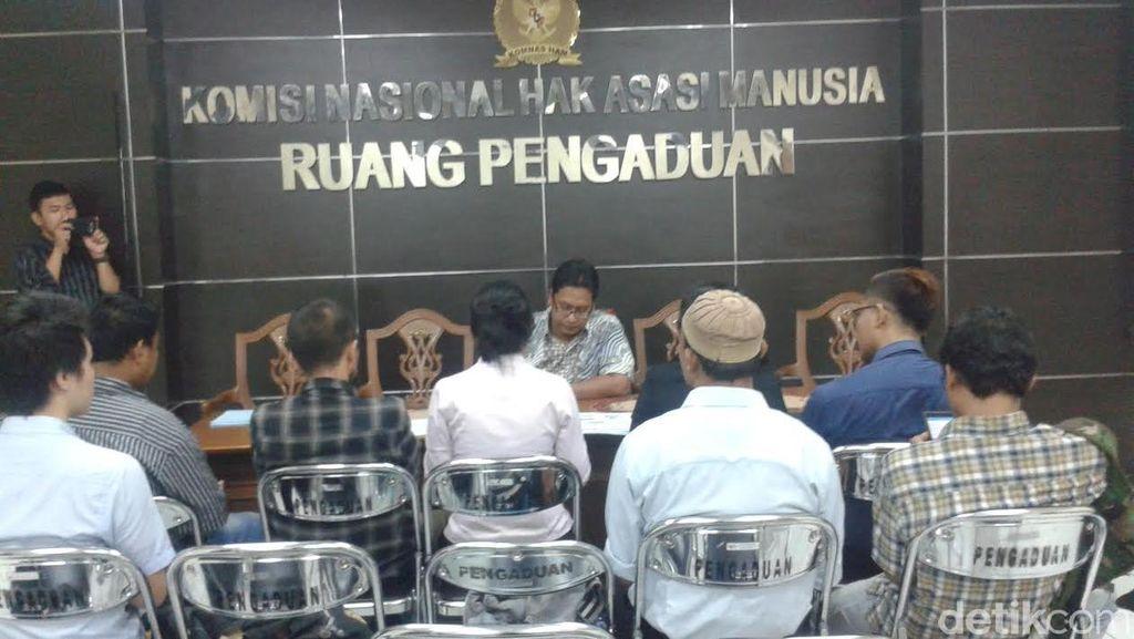 Pak Ahok, Eks Karyawan TransJ Mengadu ke Komnas HAM