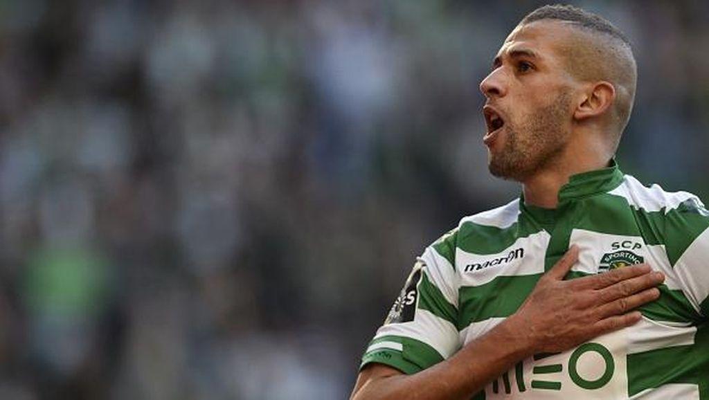 Gaet Islam Slimani, Leicester Disebut Pecahkan Rekor Transfer Klub