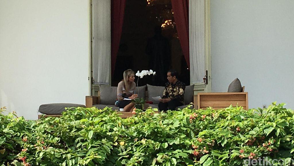 Veranda Talk, Ungkapan Keintiman Jokowi Terhadap Tamu Negara