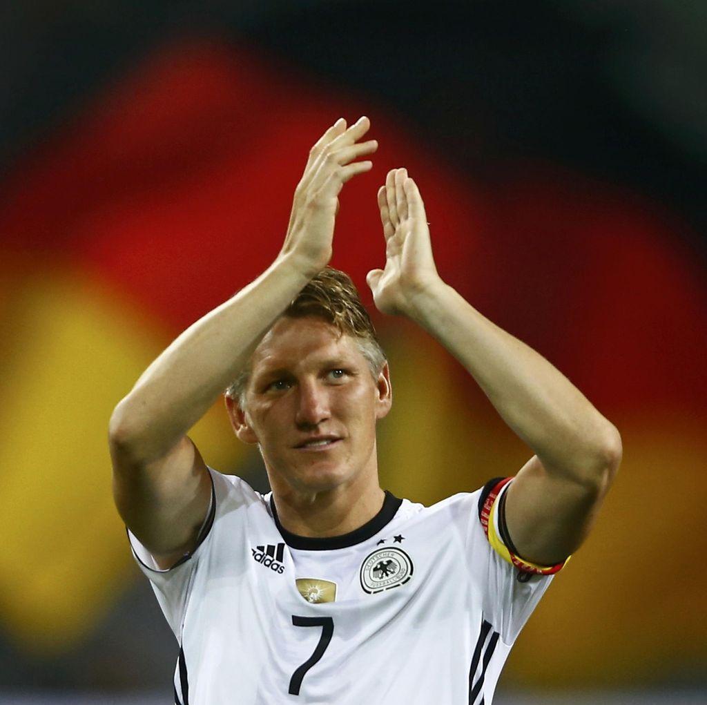Jerman Menang 2-0 di Laga Perpisahan Schweinsteiger