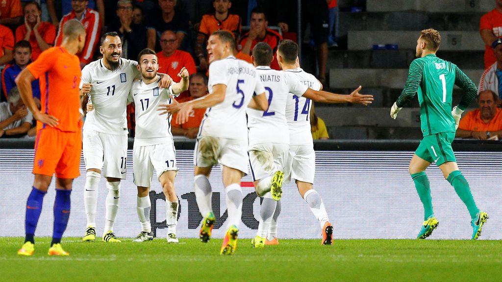 Belanda Dipermalukan Yunani 1-2