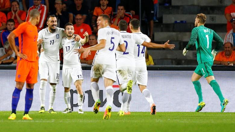 Belanda Kalah Tipis Dari Yunani 1-2
