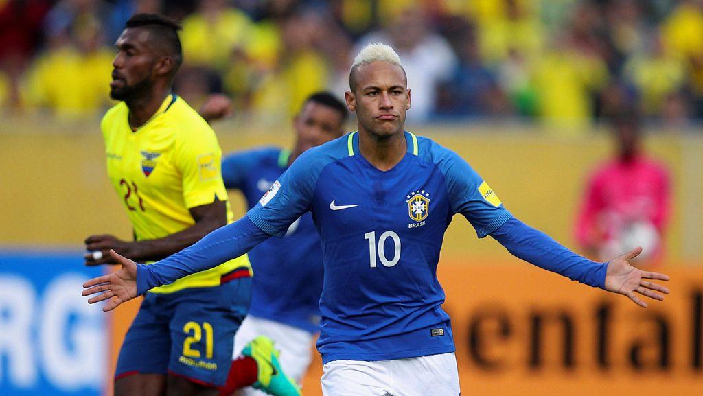 Brasil Tumbangkan Ekuador 3-0